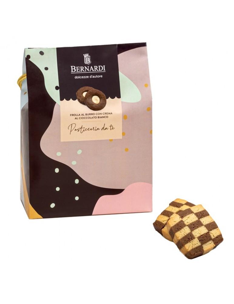biscotti al burro vaniglia e cacao