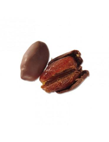 datteri ricoperti di cioccolato fondente