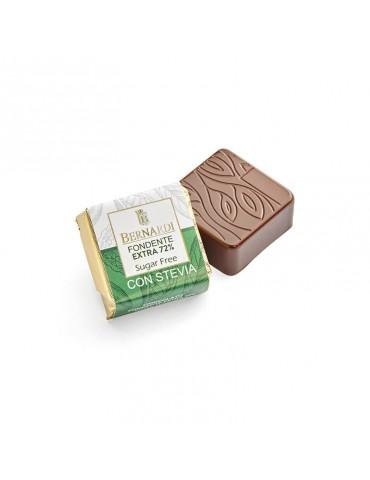Cioccolatino fondente senza zucchero