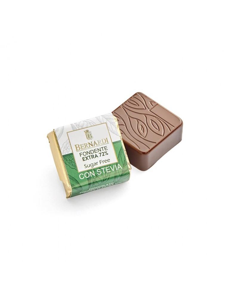 cioccolato fondente senza zucchero