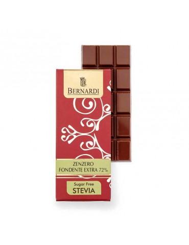 cioccolato senza zucchero allo zenzero