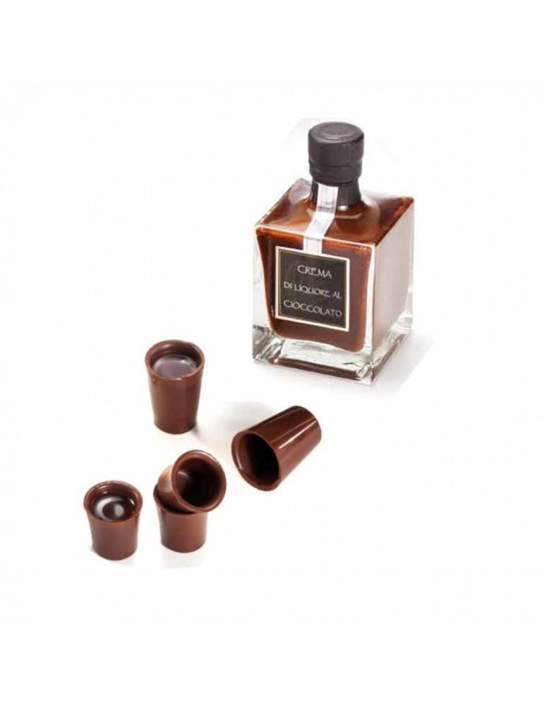 mini liquore al cioccolato
