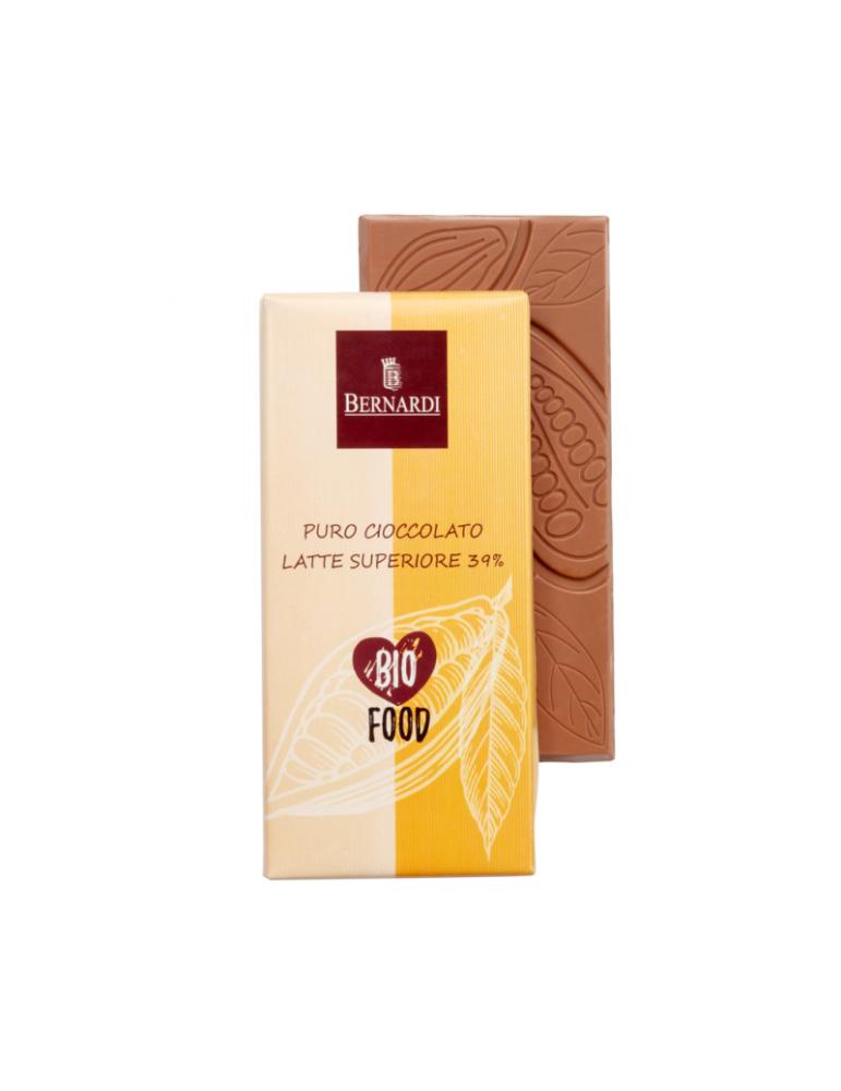 cioccolato al latte bio