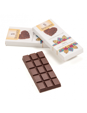 Tavoletta 100% massa di cacao